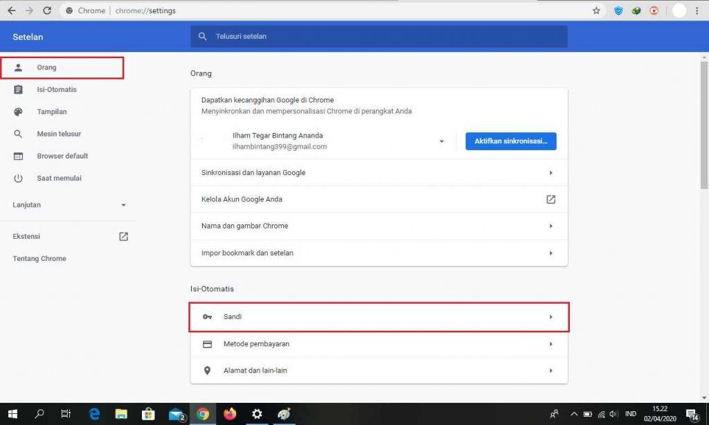 Cara Melihat Password Yang Tersimpan Di Google Chrome