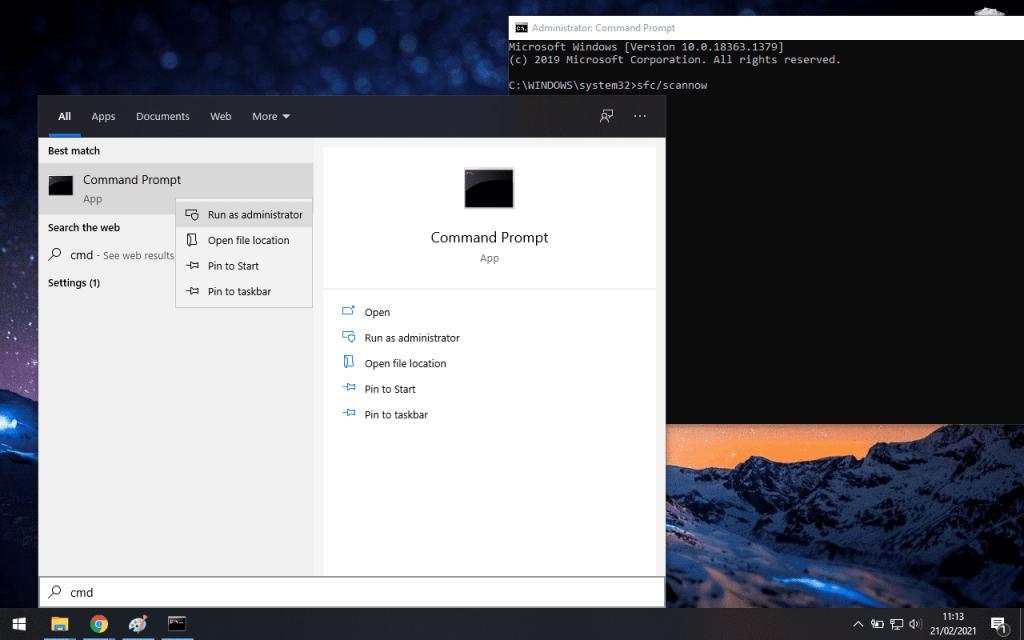 Windows Explorer Sering Not Responding